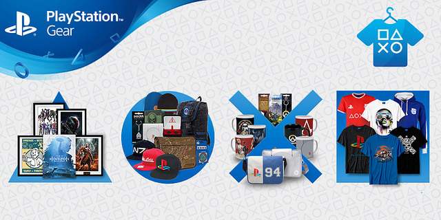 New PlayStation Gear store has opened